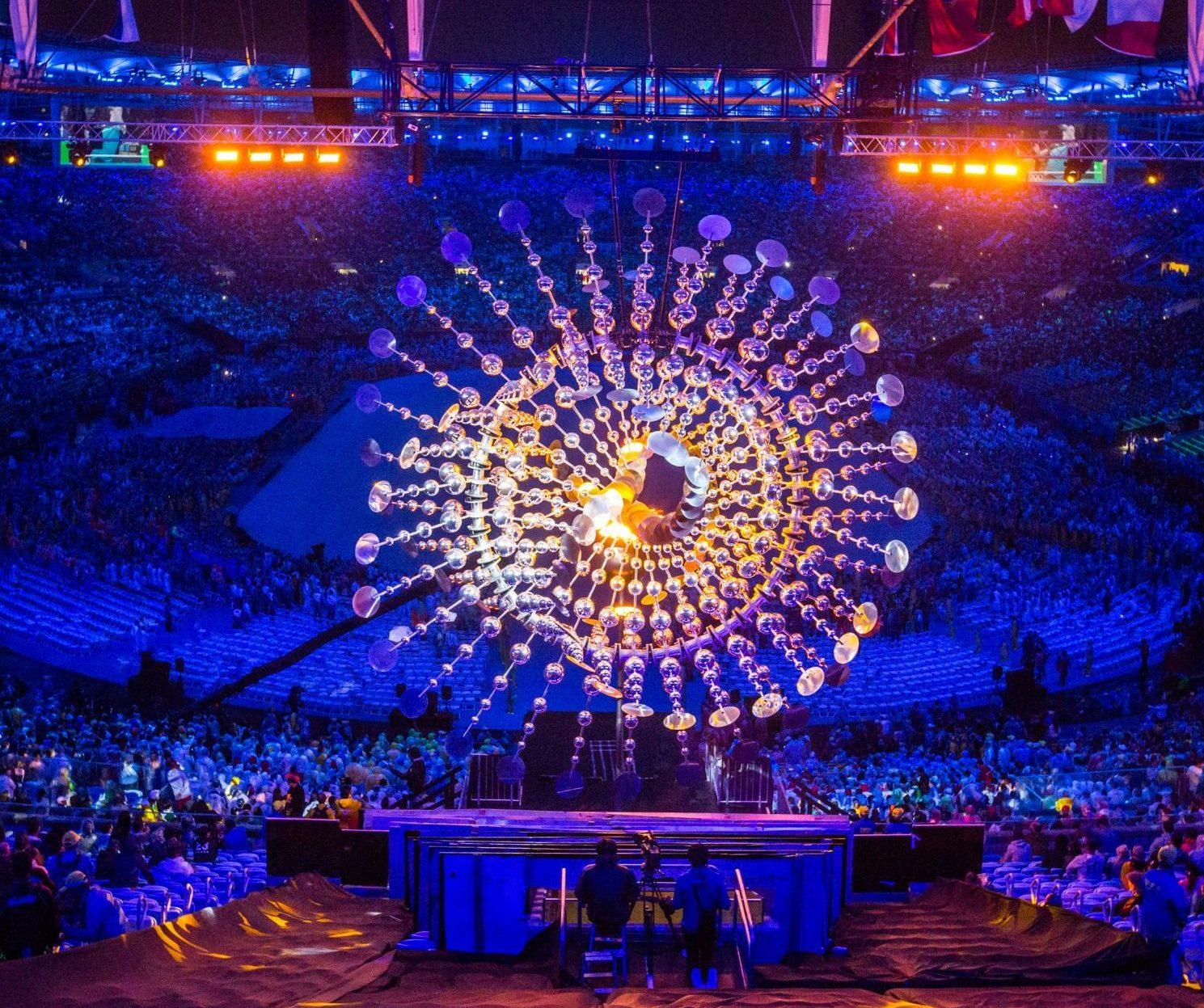 Le soleil - Sculpture cinétique - Jeux olympiques de Rio