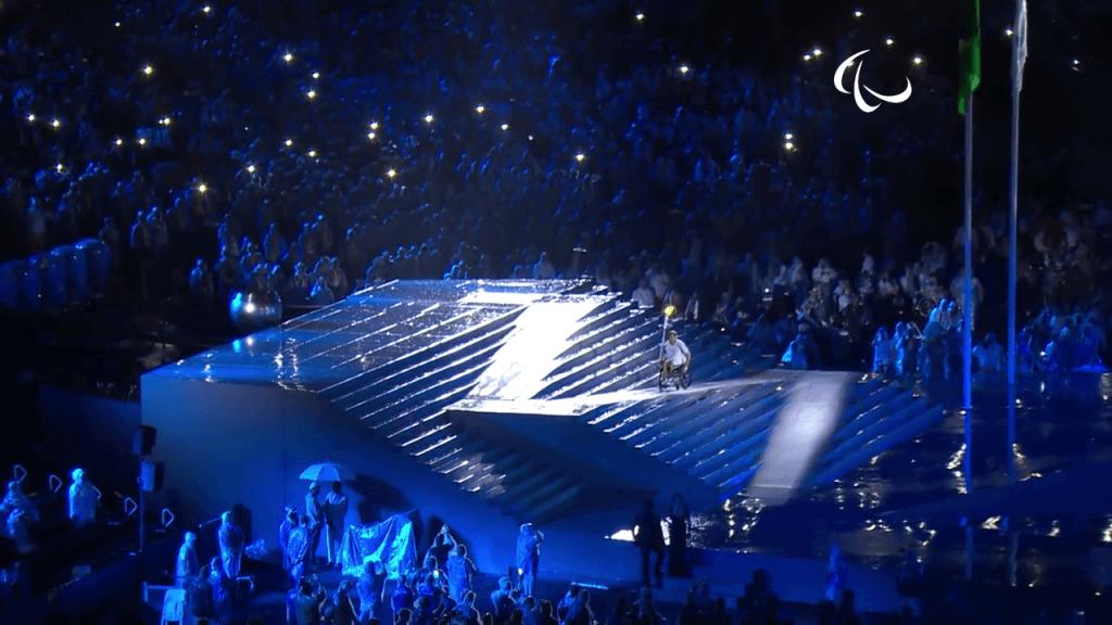 Escaliers rétractables - Jeux paralympiques de Rio