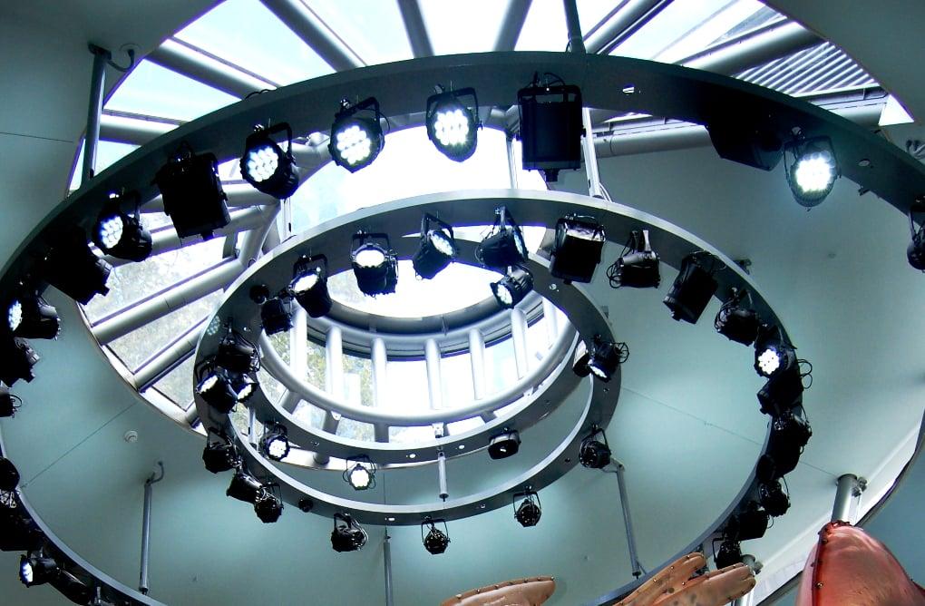 Plafond du bâtiment - Seaglass Carousel
