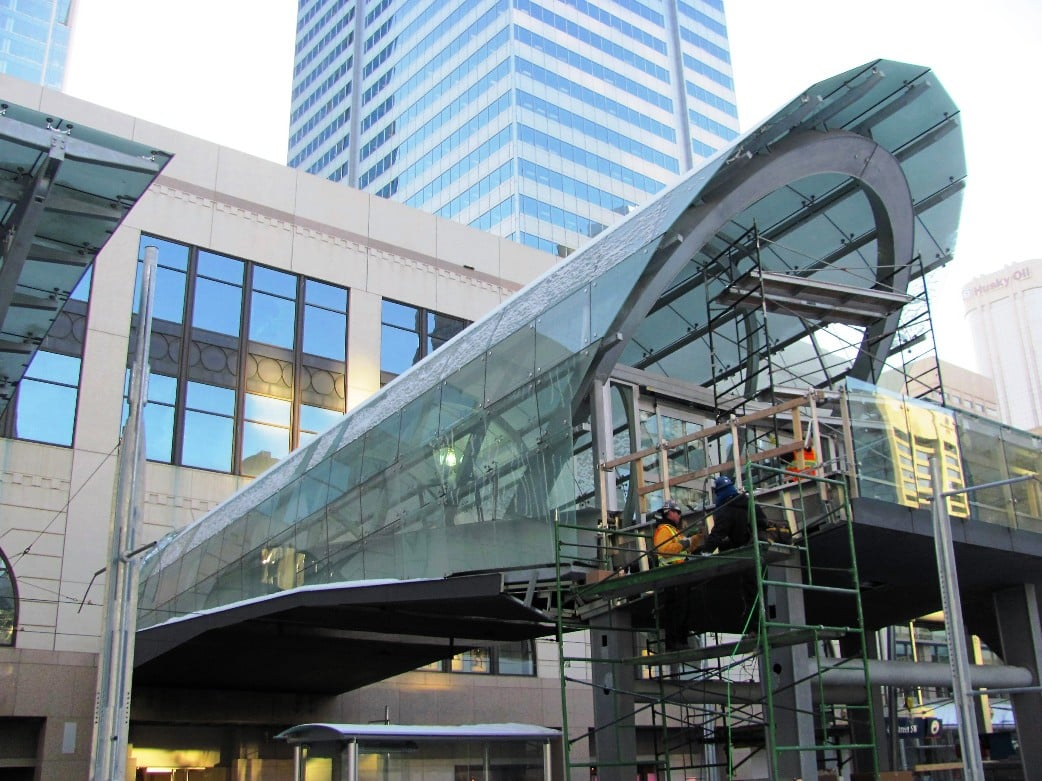 Plateforme - Station Train Calgary