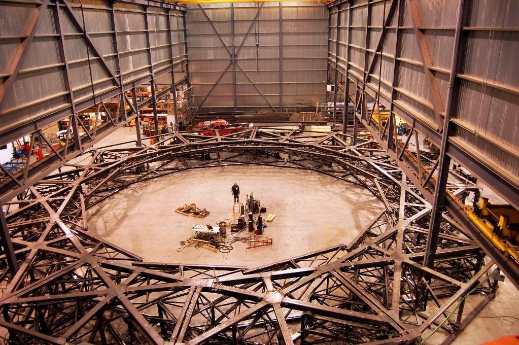Fabrication de la structure de l'Iris - Ouvert