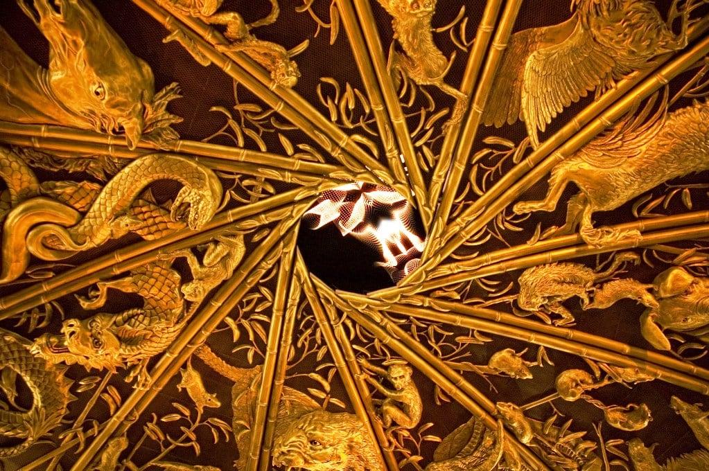Iris avec effet de feu - Wynn Macau
