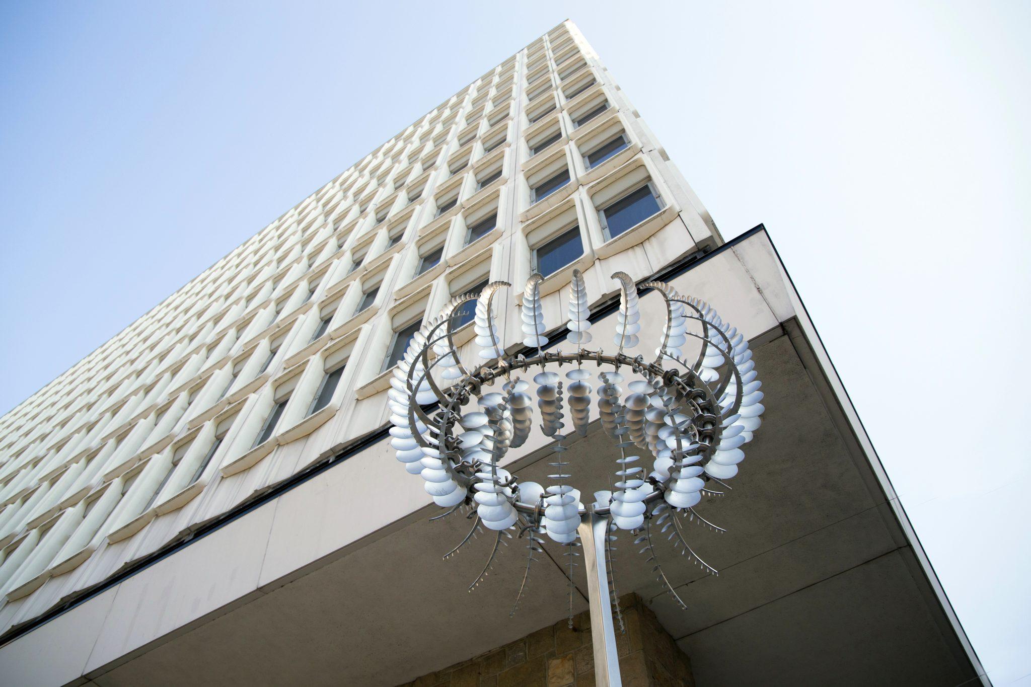 Inauguration Sculpture cinétique